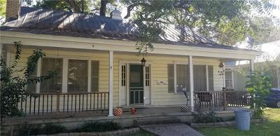 Smithville TX Single Family Home Pending - Taking Backups: $175,000