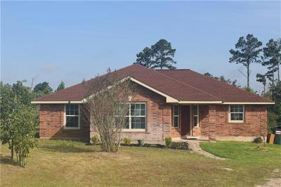 Paige Single Family Home For Sale: 215 Cardinal Loop