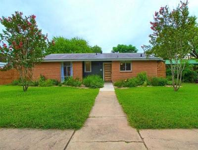 Single Family Home For Sale: 1705 Forest Hill Dr