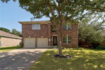 Cedar Park Single Family Home For Sale: 1303 Dove Haven Loop