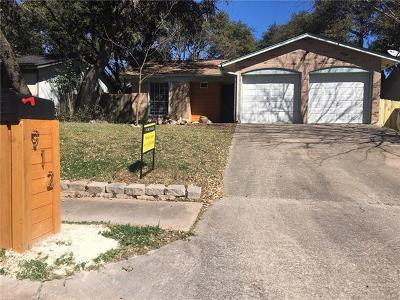 Travis County Single Family Home For Sale: 912 Acorn Oaks Dr