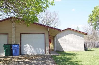 Bastrop Multi Family Home Pending - Taking Backups: 410 Vista West Ct