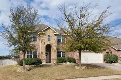 Leander Single Family Home For Sale: 2419 Elkhorn Ranch Rd