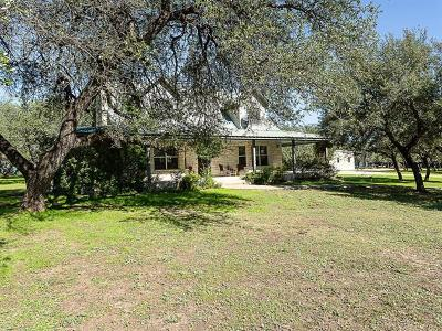 Spicewood Single Family Home For Sale: 500 County Road 413
