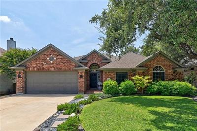 Cedar Park Single Family Home Pending - Taking Backups: 1208 Antelope Rdg