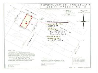 Residential Lots & Land For Sale: 5205 Chico