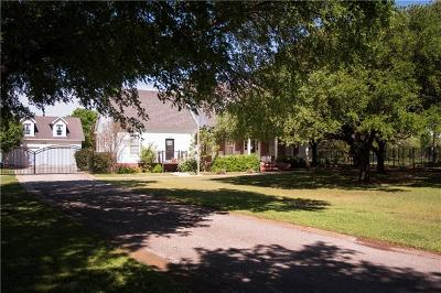 Georgetown Single Family Home For Sale: 105 N Oak Hollow Rd