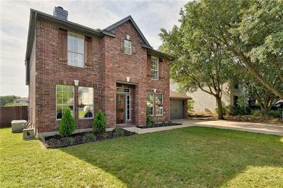 Leander Single Family Home For Sale: 16901 Stockton Dr