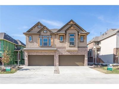 Pflugerville Condo/Townhouse For Sale: 2302 Dillon Pond Unit B