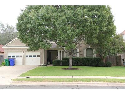 Cedar Park Single Family Home For Sale: 1104 Woodhollow Ln
