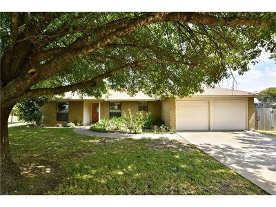 Cedar Park Single Family Home For Sale: 206 Parkway Dr