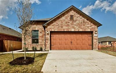 Pflugerville Single Family Home For Sale: 17014 Prestons Braid Ln