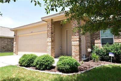 Leander Single Family Home For Sale: 200 Chickadee Ln