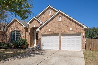 Cedar Park Single Family Home Pending - Taking Backups: 2011 Burnie Bishop Pl