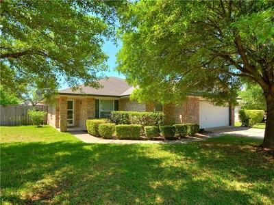 Round Rock Single Family Home Pending - Taking Backups: 2505 Lydia Ln