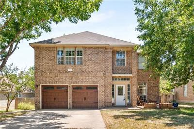 Cedar Park Single Family Home For Sale: 1806 Coral Dr
