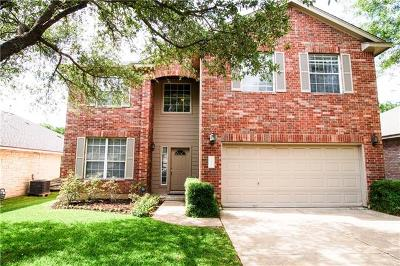 Cedar Park Single Family Home For Sale: 2317 Clover Ridge Dr