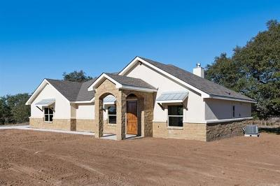 Burnet Single Family Home Active Contingent: 211 Honey Rock Blvd
