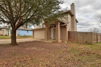 Del Valle Single Family Home For Sale: 7233 Great Panda Cv