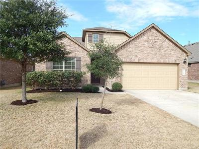 Round Rock Single Family Home Pending - Taking Backups: 3028 Angelina Ct