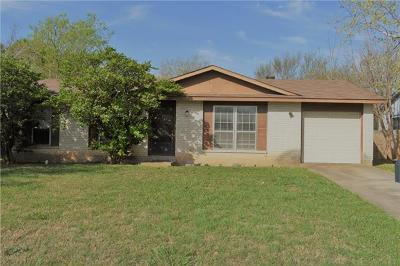Round Rock Single Family Home Pending - Taking Backups: 1913 Easton Dr