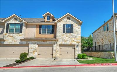 Cedar Park Condo/Townhouse For Sale: 700 Mandarin Flyway #103