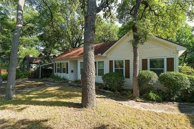 Travis County Single Family Home For Sale: 3000 Enfield Rd