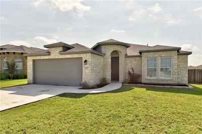 Hutto Single Family Home For Sale: 1000 Blackman Ct