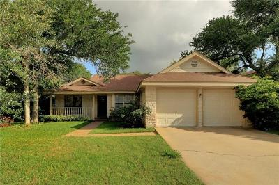 Round Rock Single Family Home Pending - Taking Backups: 3008 Peacemaker St