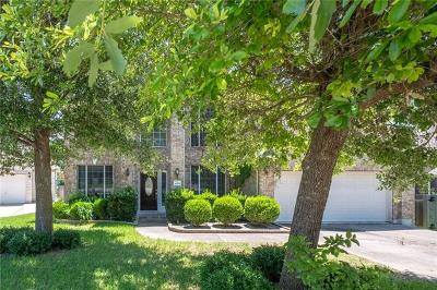 Round Rock Single Family Home For Sale: 4005 Glen Eagles Cv