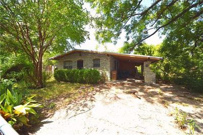 Austin TX Single Family Home For Sale: $220,000