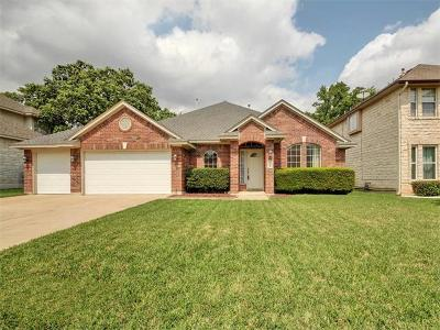 Cedar Park Single Family Home For Sale: 1509 Foster Dr