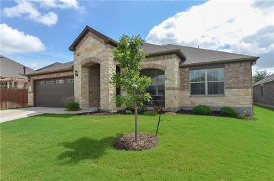 Leander Single Family Home For Sale: 1812 Cactus Mound Dr