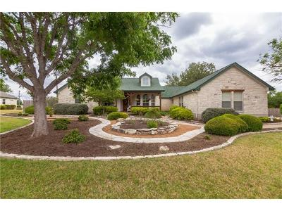 Georgetown Single Family Home For Sale: 1003 Fountainwood Dr