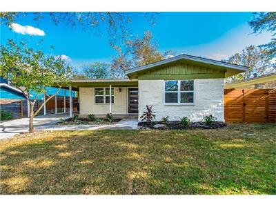 Travis County Single Family Home For Sale: 6005 Eureka Dr
