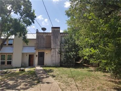 Travis County, Williamson County Condo/Townhouse For Sale: 3205 Northeast Dr