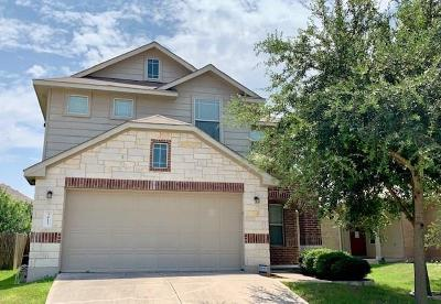 Pflugerville Single Family Home For Sale: 3413 Tralagon Trl