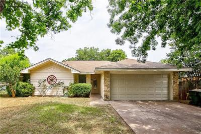 Georgetown Single Family Home For Sale: 1703 Quail Valley Dr