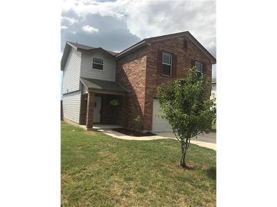 Hutto Single Family Home For Sale: 1015 Easy Cv