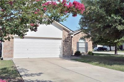 Hutto Single Family Home For Sale: 509 Kates Way