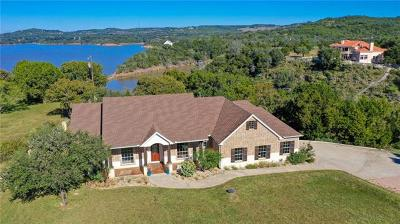 Marble Falls Single Family Home For Sale: 5100 Lookout Ridge Dr