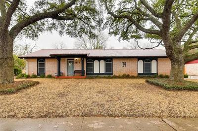 Austin Single Family Home For Sale: 7117 South Brook Dr