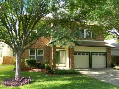 Travis County, Williamson County Single Family Home For Sale: 8206 Cahill Dr