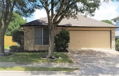 Pflugerville Single Family Home Pending - Taking Backups: 17222 Tobermory Dr