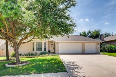 Leander Single Family Home Pending - Taking Backups: 2505 Granite Creek Dr