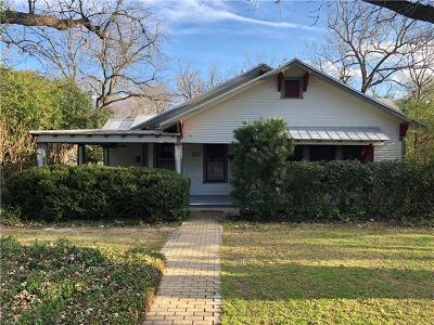 San Marcos Single Family Home For Sale: 1115 Belvin St