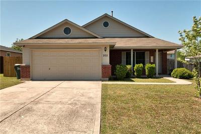 Kyle Single Family Home For Sale: 265 Spring Branch Loop