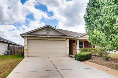 Hutto Single Family Home For Sale: 226 Tolcarne Dr