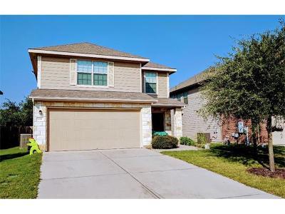 Leander Single Family Home For Sale: 128 Housefinch Loop
