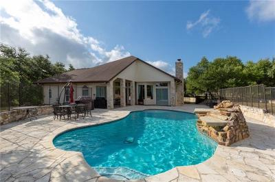 Dripping Springs Single Family Home For Sale: 13850 Sawyer Ranch Rd